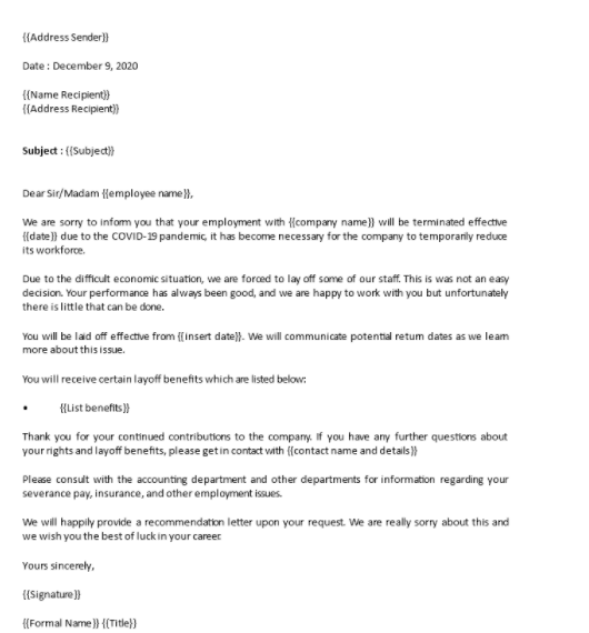 termination-of-employment- letter
